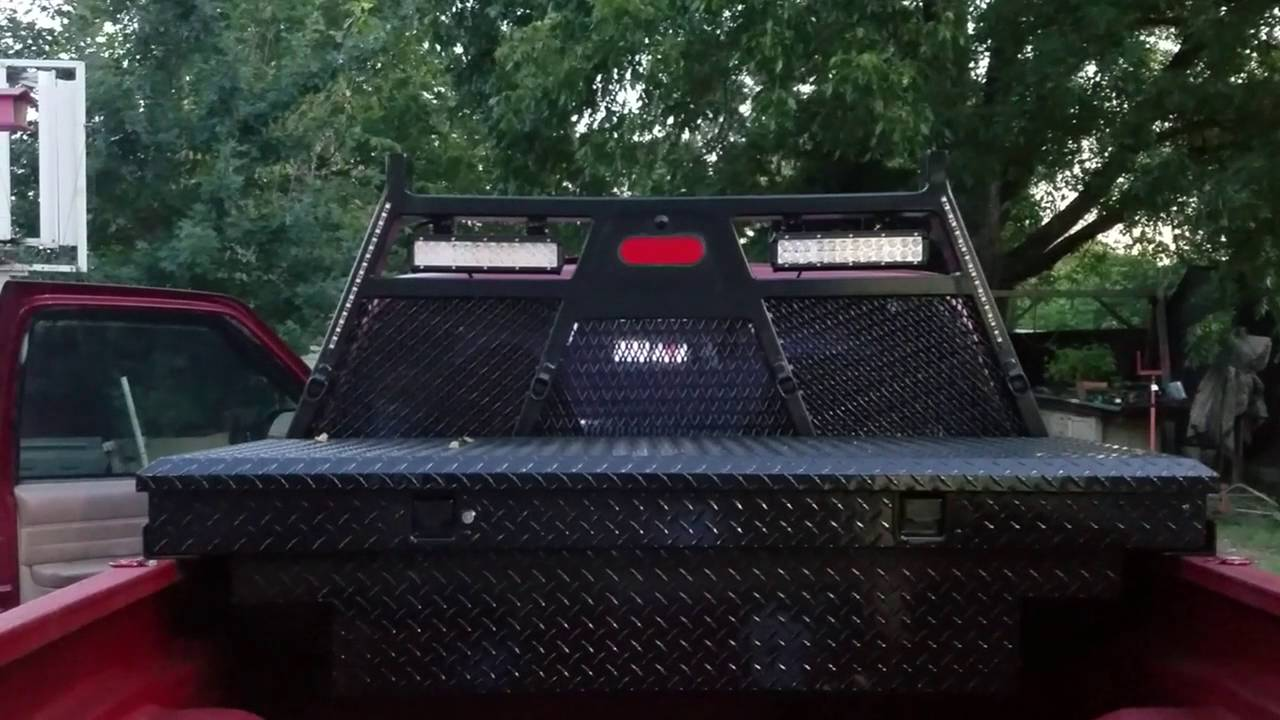 truck headache rack for chevy s10 DIY - YouTube