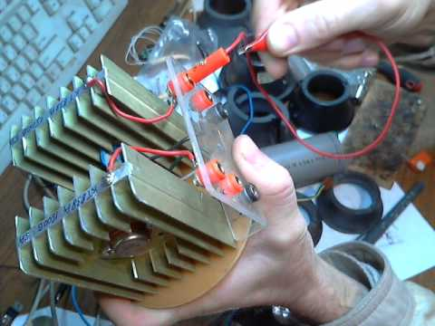 Сборка транзисторов на КТ838А