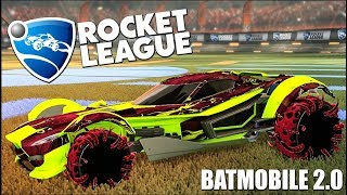 The NEW Rocket League Car Is The Batmobile 2.0