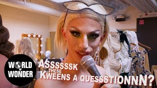 """Can I Ask You A Question"" with Aquaria COUNTDOWN TO THE CROWN: RuPaul's Drag Race Season 10"