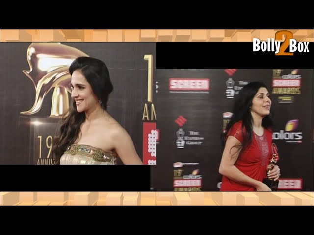 Celeb At Colors Screen Awards And Red Carpet Travel Video