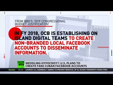 Nothing new for Washington? US plans to create fake Cuban FB accounts