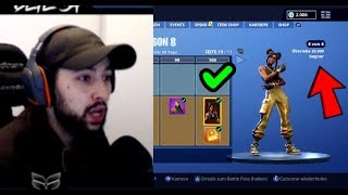 SEASON 8 Battle Pass ALL FREE + FIRST REACTION! | Fortnite | CETE54