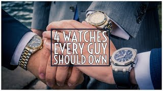 The 4 Watches Every Guy Should Own || Men's Watches 2019 || Gent's Lounge