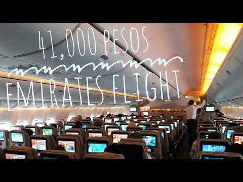 DUBAI 2018 | EMIRATES FLIGHTS EK 338 | #KentotTravels