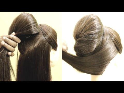 Beautiful High Bun Juda Hairstyles | Party Juda Bun | Donut Bun Juda | KGS Hairstyles thumbnail