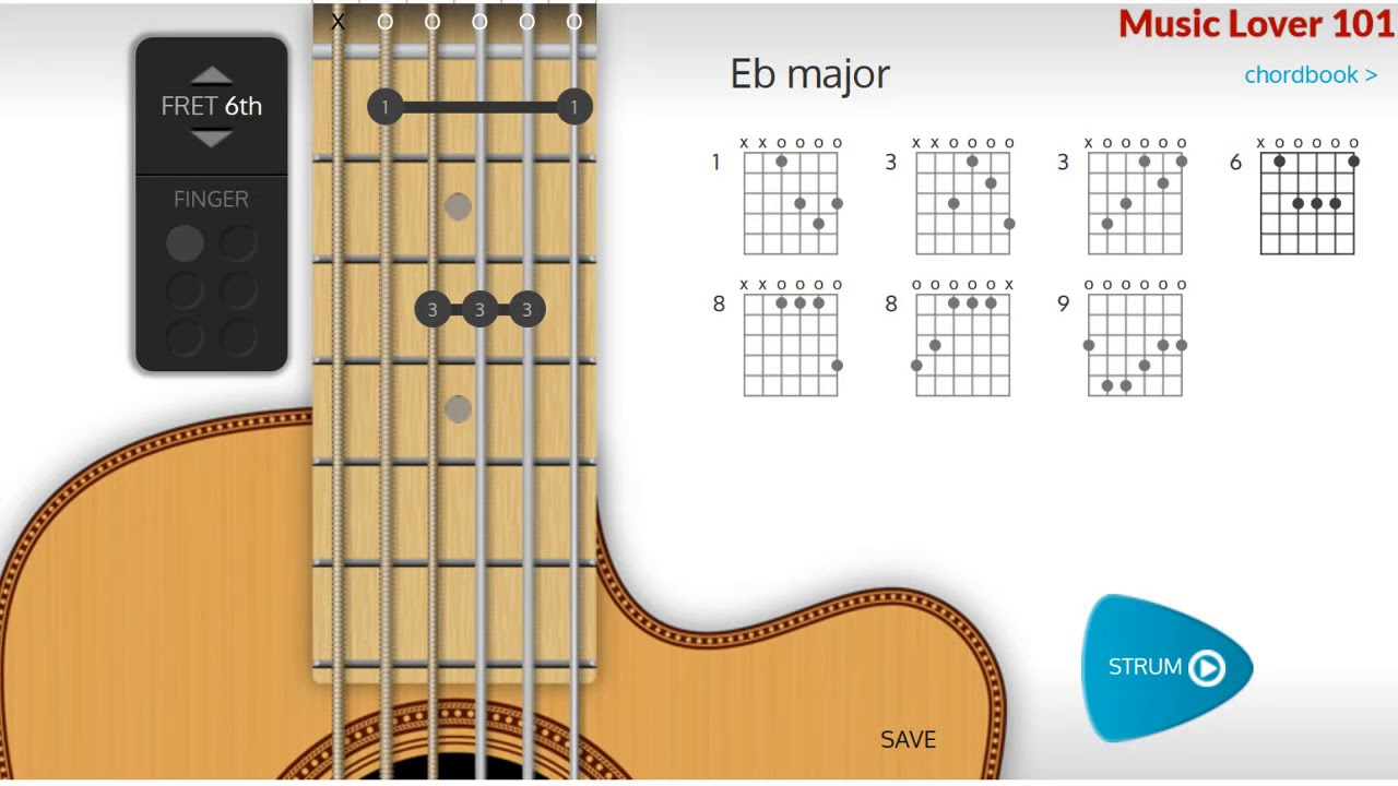E Flat Or D Chord Guitar Youtube