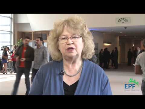 Jean Lambert (EFA-Greens, UK) supports the EPF 2014 Elections Campaign