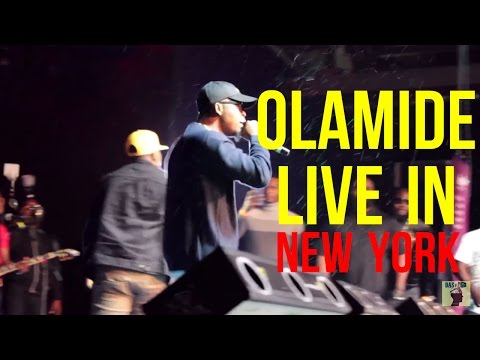 OLAMIDE LIVE IN NEW YORK (FULL COVERAGE)