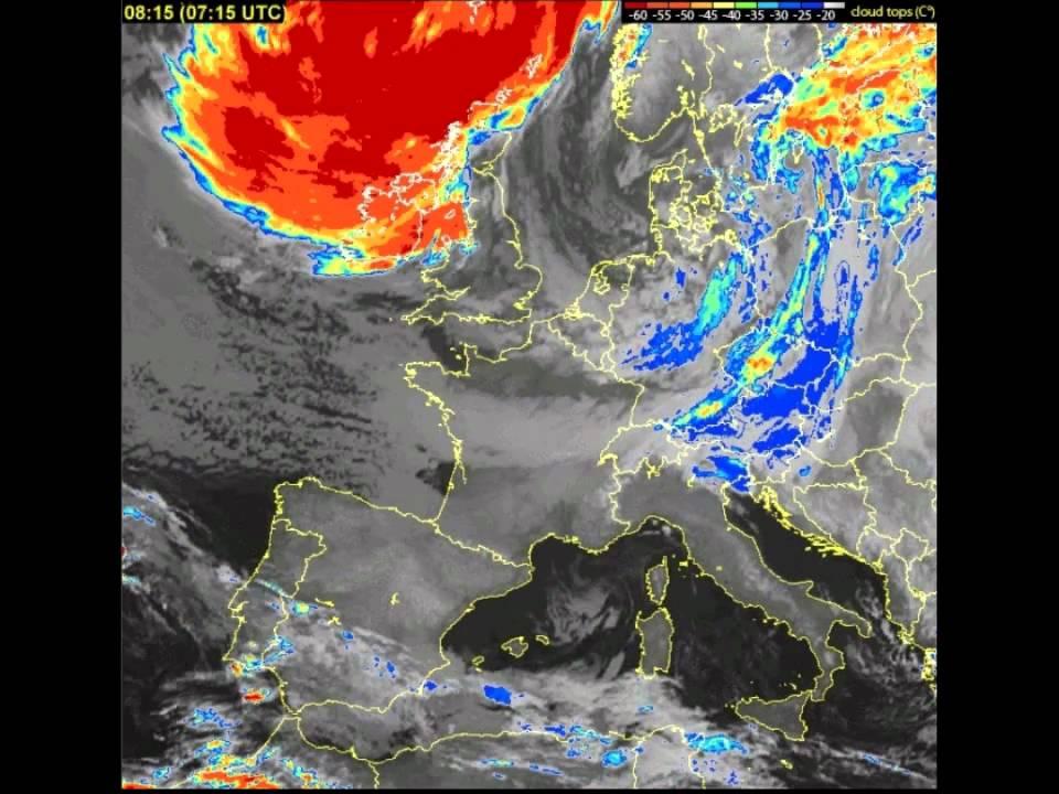 karta evrope satelit Satelitska slika Evrope, 24.01.2011 0:00 do 25.01.2011 17:30   YouTube karta evrope satelit