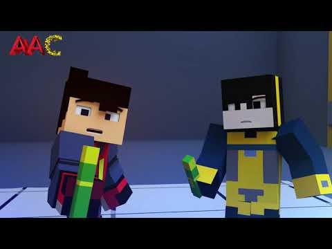 Ejen Ali -  Misi Atlas ( Minecraft Animation )