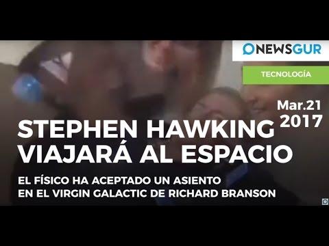 Stephen Hawking viajará al espacio
