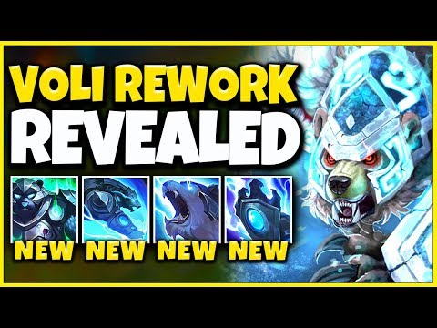 NEW VOLIBEAR REWORK REVEALED! 100% IMMUNE TO CC, AP BRUISER (REWORKED VOLIBEAR) - League of Legends