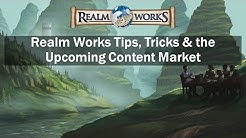 Gen Con 2015 Seminar: Realm Works – Tips, Tricks, & the Upcoming Content Market