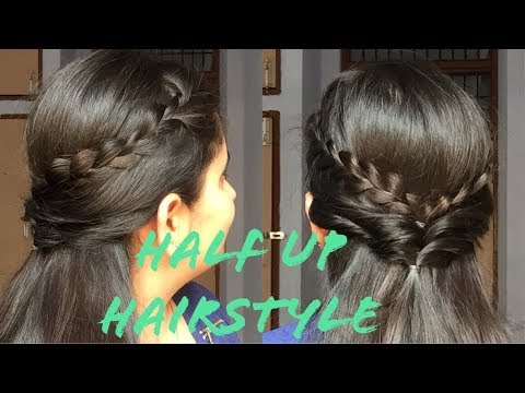 Quickeasy Half Up Hairstyle For Shortmediumlong Hair Summer