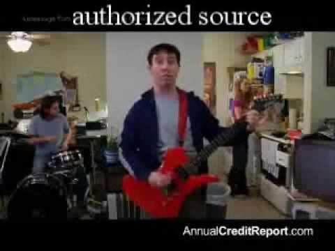 Free Credit Report Commercial FTC Lyrics