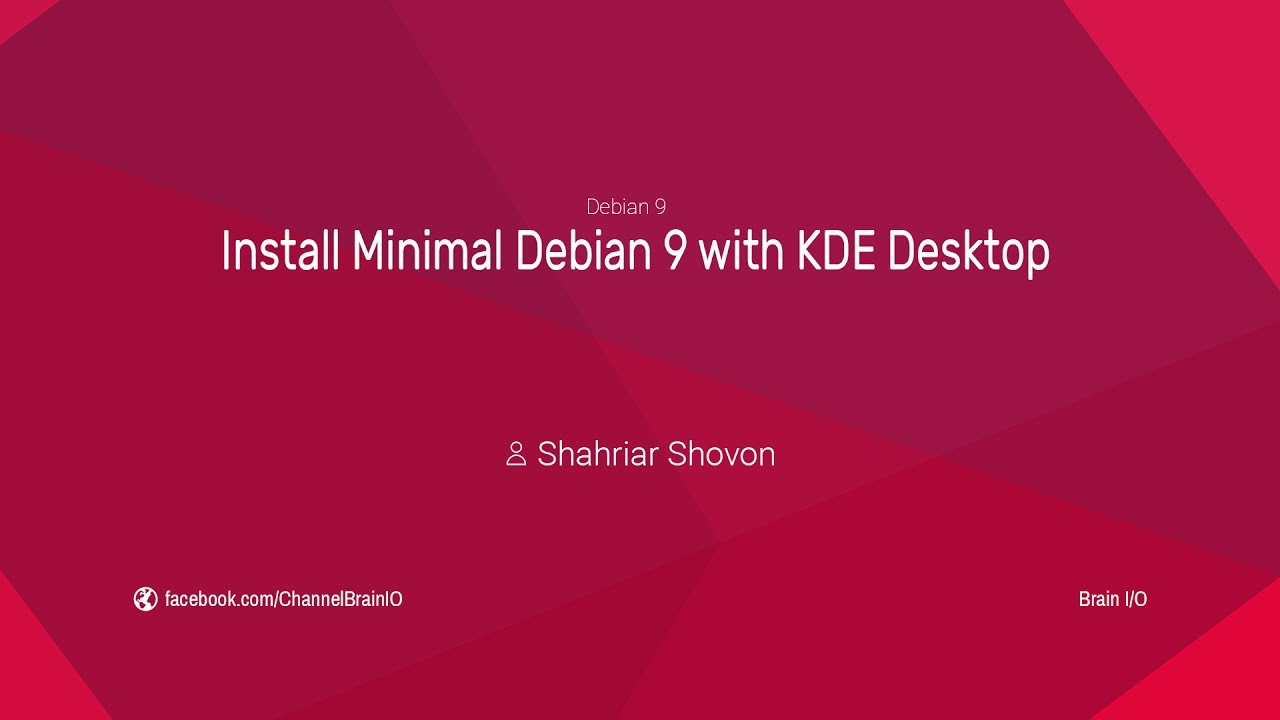 how to start debian desktop
