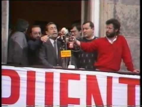 Alvaro Pino Vuelta 86 Recibimiento Ponteareas