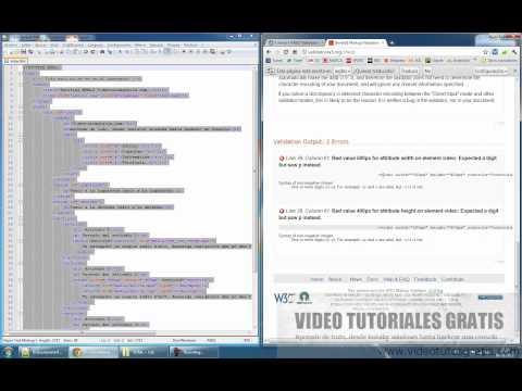 Parte 5 (Validador de Código online) HTML5 + CSS3 desde 0