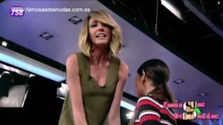 El escote de Anna Simon hipnotiza a Cristina Pedroche