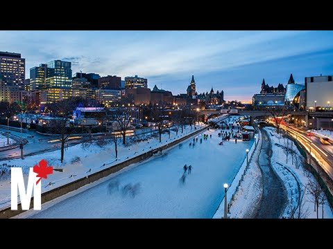 What it feels like to skate the full length of Ottawa's Rideau Canal