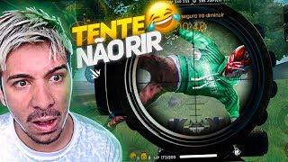 TENTE NÃO RI !! O TIRO MAIS ENGRAÇADO DO FREE FIRE thumbnail