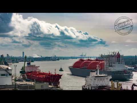 2016 LNG promo ship TimeLapse by Fotopolis.lt