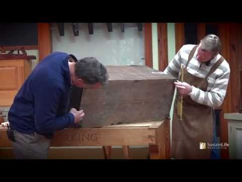 Antique Dovetailed Blanket Chest Restoration w/ Frank Strazza