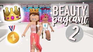 BEAUTY PAGEANT Part 2♡   Roblox Bloxburg   Arabellaa