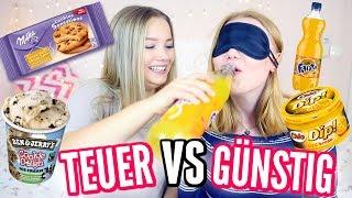TEUER VS GÜNSTIG im TEST mit Julia Beautx I Meggyxoxo