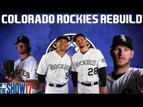 MLB 17 THE SHOW REBUILDING THE COLORADO ROCKIES!! 30 to 1 Rebuild #24