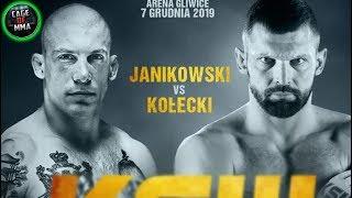 KSW 52 - Damian Janikowski vs Szymon Kołecki
