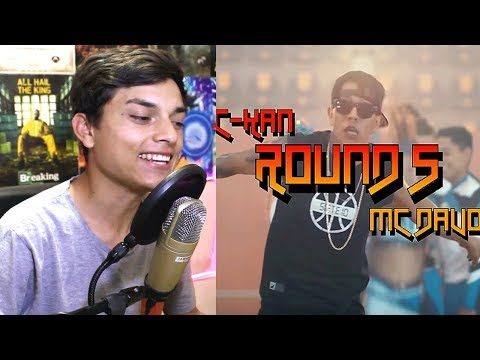 [Reaccion] C-Kan - Round 5 (Official Video) (feat. MC Davo) - Themaxready
