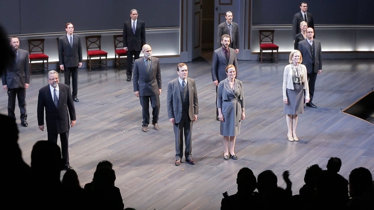 Opening Night of OSLO on Broadway