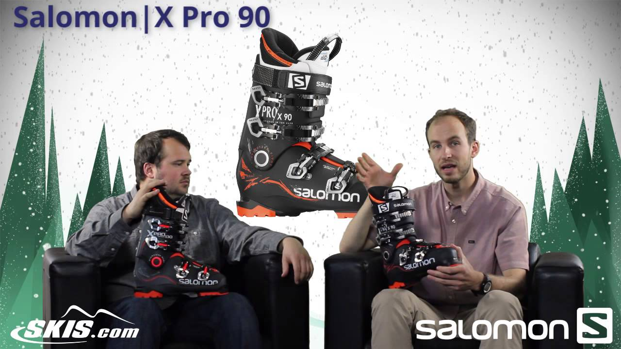 2016 Salomon X Pro 80, 90, 100,120, and 130 Mens Boot Overview by SkisDOTcom