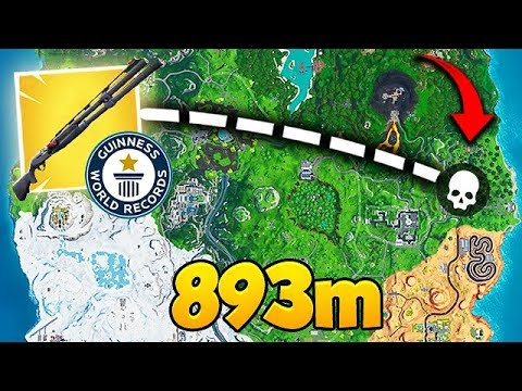 *WORLD RECORD* 893M SHOTGUN KILL! - Fortnite Funny Fails and WTF Moments! #561 thumbnail