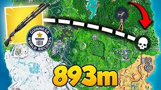 *WORLD RECORD* 893M SHOTGUN KILL! - Fortnite Funny Fails and WTF Moments! #561