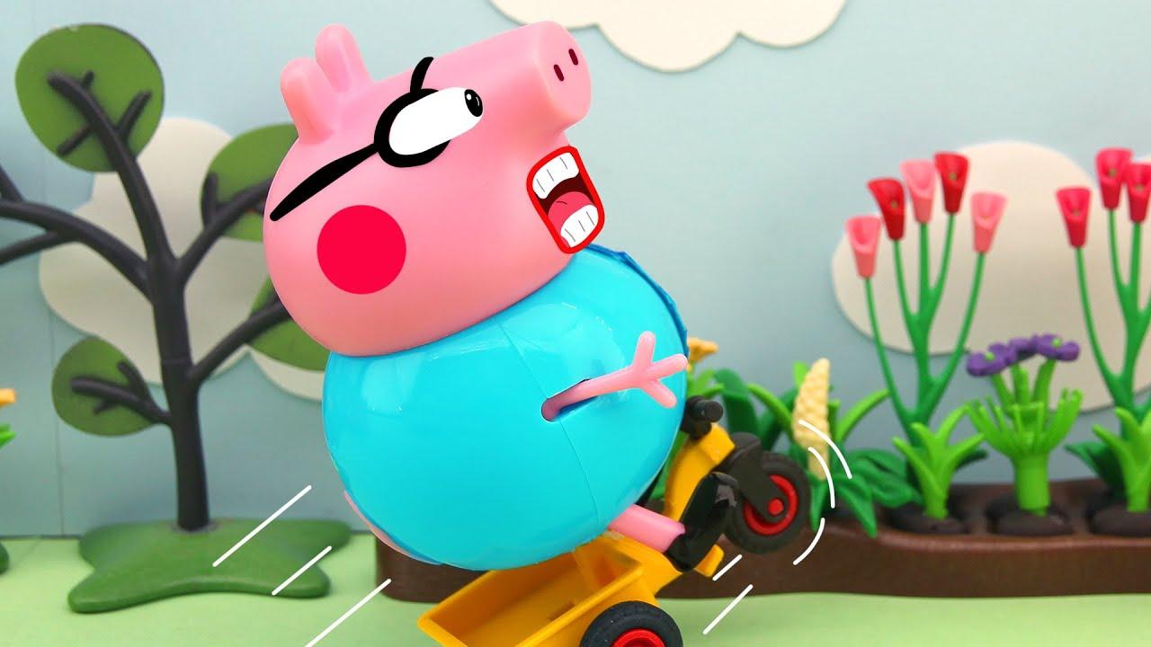 Daddy Pig's Funs, Peppa Pig Animation, 4K