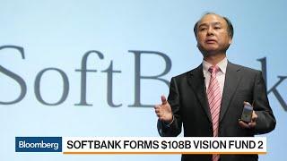 SoftBank Unveils $108 Billion Vision Fund 2