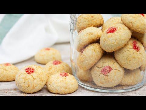 Malaysian Style Coconut Cookies 🍪🥥 | El Mundo Eats recipe #199