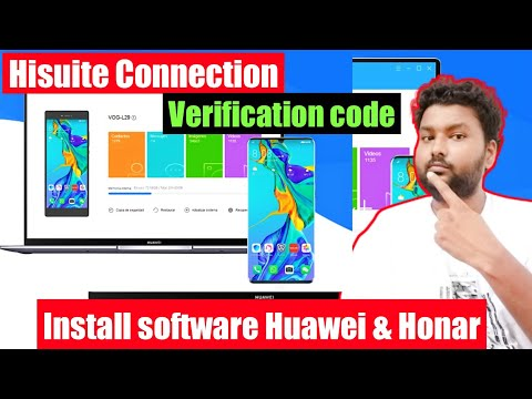 Hisuite Connection, Hisuite Not Connecting, Android Mobile Software, Hisuite Verification Code