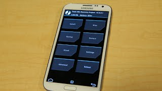 How to Install TWRP Recovery on Note 2 N7100 with ODIN