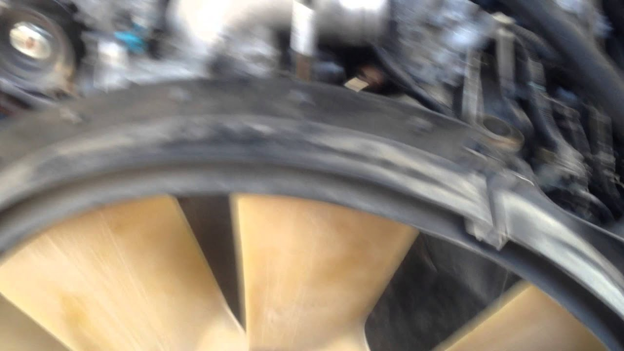 fan clutch removal 2003 6 0 powerstroke