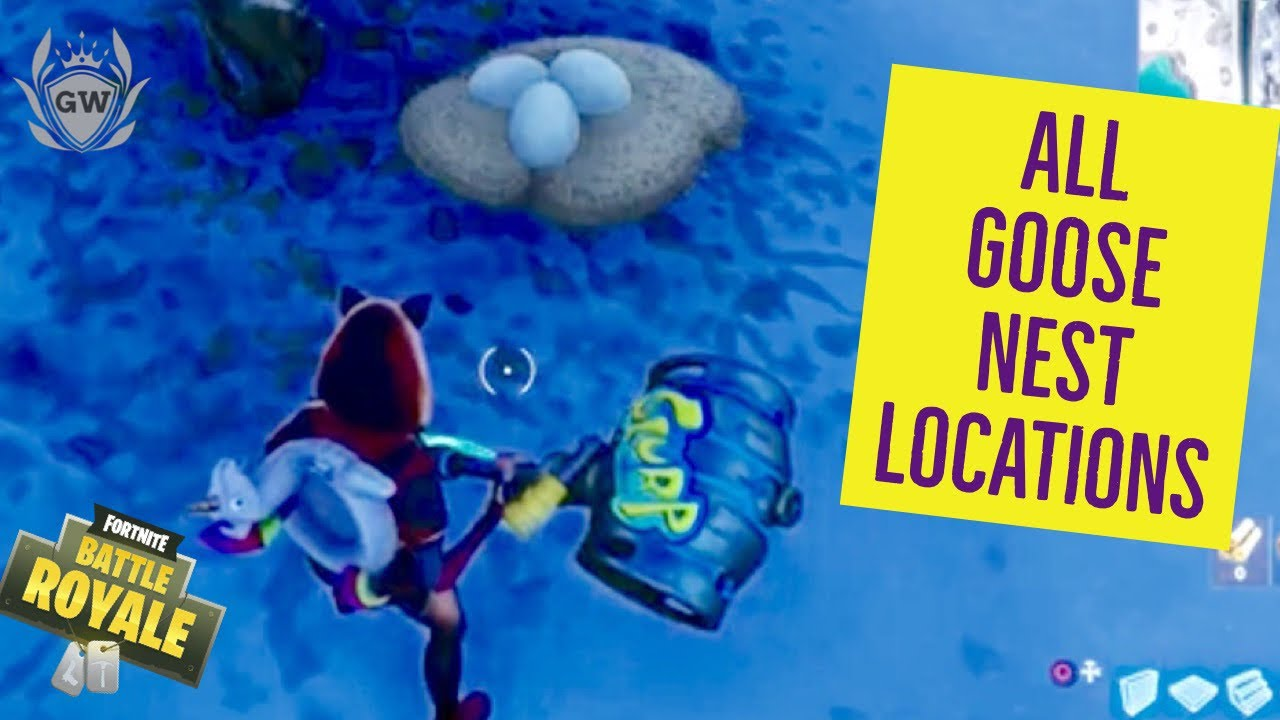 Search Waterside Goose Nests All 6 Locations 14 Days Of Fortnite