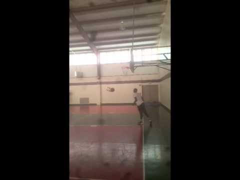 Joe 'Superman' Lewis dunk highlights