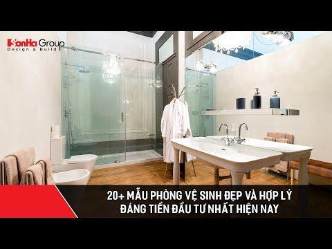 20+ Mẫu phòng vệ sinh đẹp và hợp lý đáng tiền đầu tư nhất hiện nay