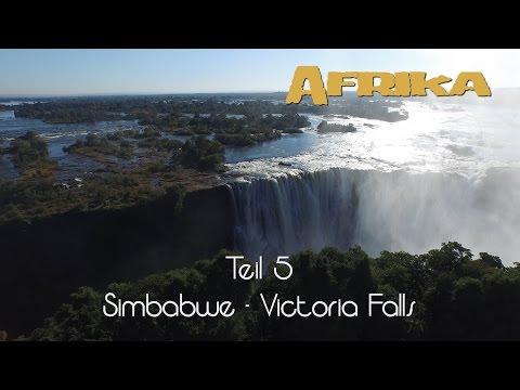 Afrika in 4K - Teil 5 - Victoria Falls / Zimbabwe