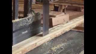 Proses Pengolahan Kayu Jati Di Sawmill