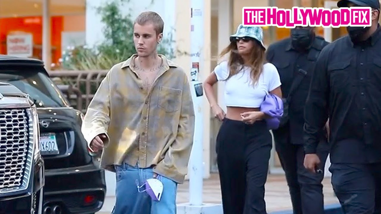 Justin & Hailey Bieber Enjoy A Family Date Night Together At Sushi Park On The Sunset Strip In WeHo