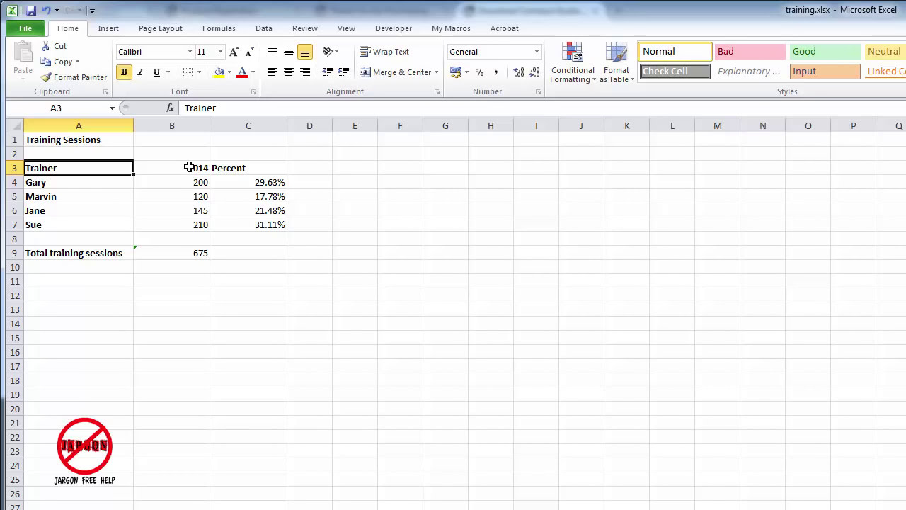 Selecting data in different columns for an excel chart youtube gamestrikefo Images